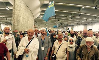 Крымские паломники в хадже